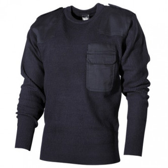 BW пуловер,   navy blue  100 процента акрил