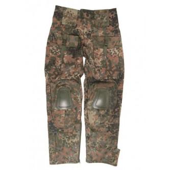 Панталон тактически '' MIL-TEC WARRIOR  Flecktarn   '' с вградени протектори за колене