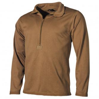 Термоблуза , модел от армията на САЩ , ниво-2 , трета генерация , цвят '' coyote tan ''