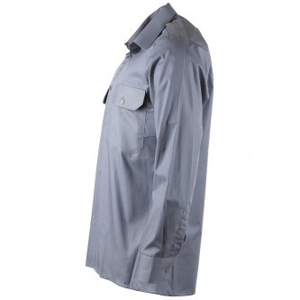 Военна риза , цвят сив , 100% памук