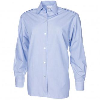 Военна риза дълъг ръкав , светло синя , Нидерландия