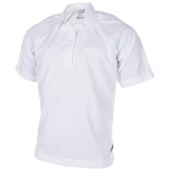 Английска полицейска риза , бяла , къс ръкав