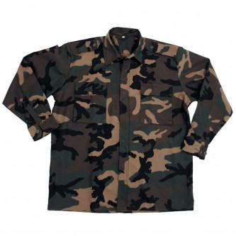Риза - яке '' уудланд-камо ''  от армията на Хърватия