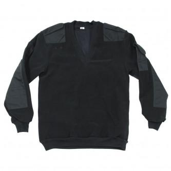 Британски военен пуловер , ветроустойчив   ,цвят ''петрол'' ,  V-образна яка, стари складови наличности .