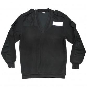 Британски военен пуловер  ,цвят ''петрол'' ,  V-образна яка, стари складови наличности .