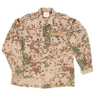 Риза от немската армия , ''ТРОПИКАЛ КАМО '' , стари складови наличности .