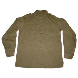 Риза от армията на Австрия , цвят ''олив'' , стари складови наличности .