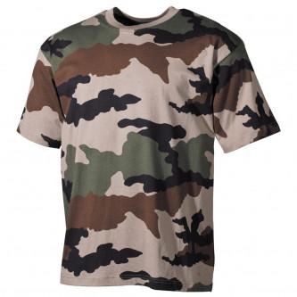 Тениска камуфлажна , US  classic-style, CCE, 170 g/m²