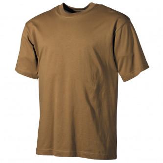 Тениска , армейска , US  classic-style, coyote, 170 g/m²