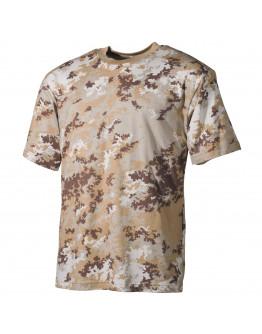 Камуфлажна тениска '' classic-style, vegetato desert,'' 170 g/m²