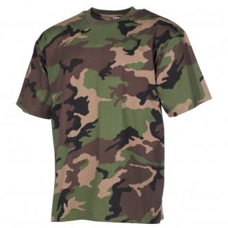 Тениска камуфлажна '' US  classic-style, M 97 SK camo'', 170 g/m²
