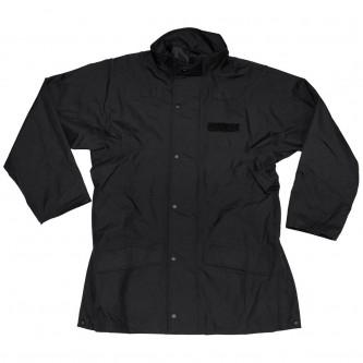 Яке за дъжд , английско , цвят черен , поларен флис .