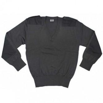 Пуловер от армията на Австрия , цвят сив , стари складови наличности .