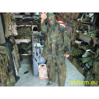 Яке от немската армия, ветро и водоустойчиво ,'' горетекс'' , камуфлаж , '' флектарн камо''.