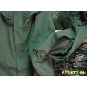 Шуба ,  полева , цвят ''олив'', ветро и водоустойчива , ''ГОРЕТЕКС'' мембрана , подплата полар.