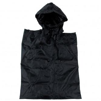 Дъждобран  US Poncho   Rip Stop   black     размер   144 x 223 cm