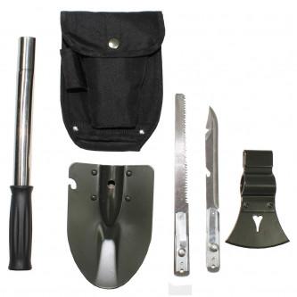 Помощен ,  туристически ,комбиниран комплект от 6 броя инструменти ,  6 в 1.