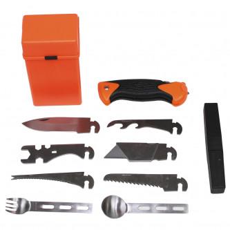 Многофункционален помощен комплект с 27 броя инструменти
