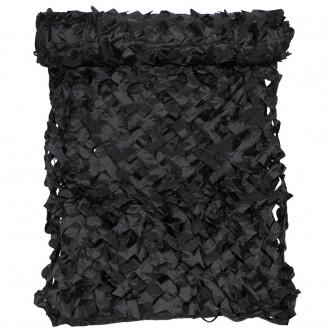 Камуфлажна мрежа   Basic  черна   2х3 м