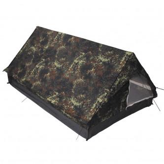 Палатка двуместна , еднослойна.