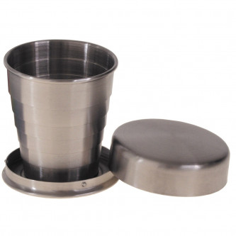 Чаша за пиене  телескоп  4 cl  неръждаема стомана