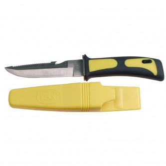 Нож водолазен , 11.5 см острие.