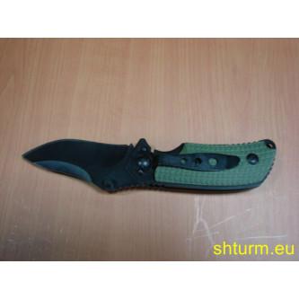 Мини нож серия'' Фокс''  оребрена пвц ръкохватка