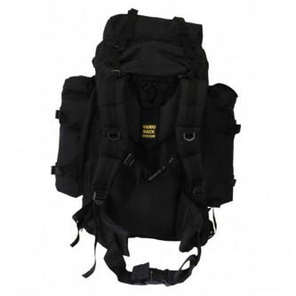 "Раница , туристическа , BW Backpack ""Mountain"", black, w/2 side bags ."