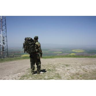 """Раница , камуфлажна , туристическа , 80+20 л , """"Mountain"""", BW camo, w/2 side bags."""