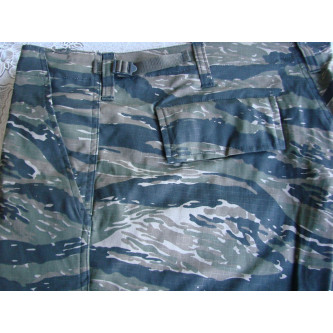Къси камуфлажни панталони US BDU Bermuda  Rip Stop tiger stripe   100% памук   рип стоп