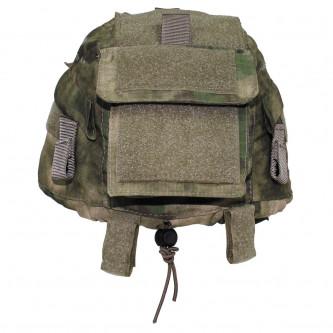 Калъф за тактическа какска , 100% памук рип стоп , '' HDT camo green''