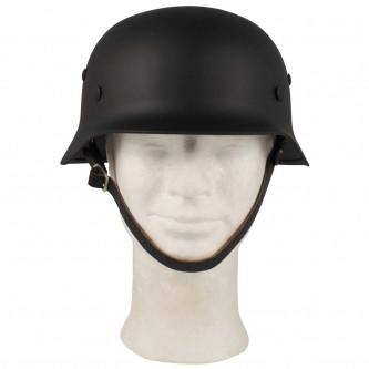 Каска метална , черна , '' WW II ''