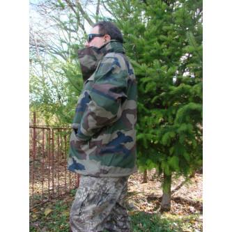 Шуба , горетекс  , ССЕ - КАМО , модел от армията на Франция .