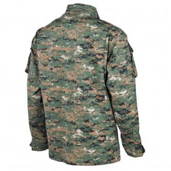 Риза  тактическа US Field ACU Rip Stop Digital Woodland