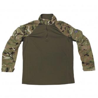 """Еластанова тактическа блуза Combat Shirt """"UBAS"""" MTP Camo"""