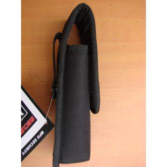 Калъф за фенер , черен , полиестер , модел 22723 .