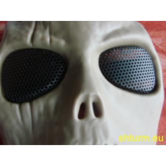 "Предпазен шлем , лицев , за еърсофт и пейнбол , модел ""skull"","