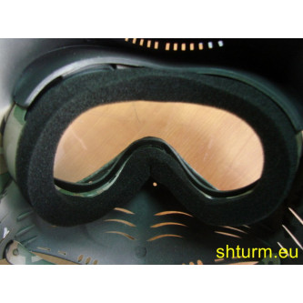 """Предпазен шлем за глава еърсофт и пейнбол , със вградени очила за стрелба , модел  """"Fight""""."""